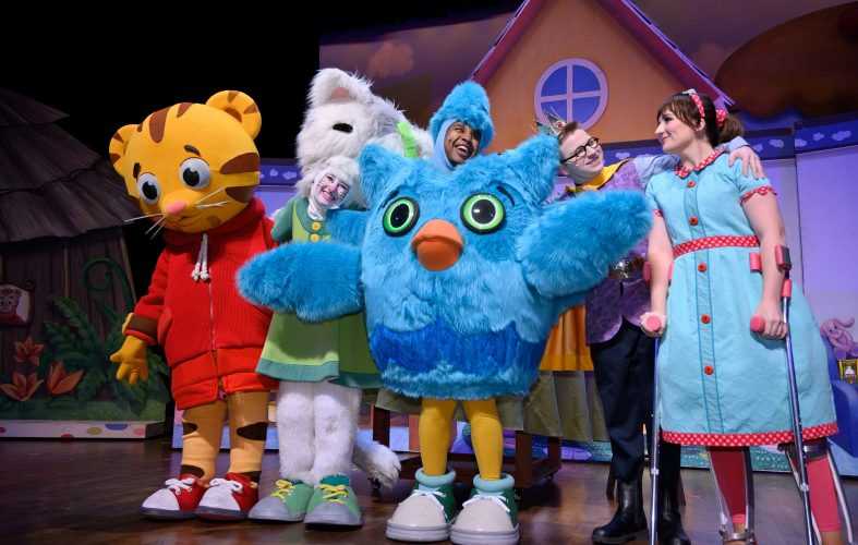 2018 Daniel Tiger's King for a Day by Mills Entertainment at Michigan State University's Wharton Center Great Hall stage Copyright 2018 Mills Entertainment, Harley J Seeley Photography Full usage rights transferrred to Mills Entertainment